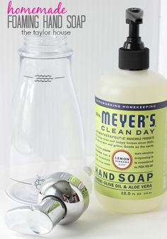 FREE Cleaning Kit Offer and Make Your Own Foaming Soap - The Taylor House