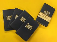 Pocket Staple Notebook (3-Pack) – Story Supply Co.