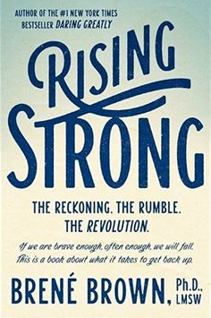 Social scientist Brene Brown has ignited a global conversation on courage, vulnerability, shame, and worthiness. Her pioneering work uncovered a profound truth: Vulnerability--the willingness to show up and be seen with no guarantee of outcome--is the only path to more love, belonging, creativity, and joy. But living a brave life is not always easy: We are, inevitably, going to stumble and fall.