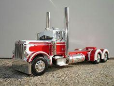 Model truck.