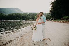 Gorgeous Mountain backdrop for this Lake Lure, NC Wedding. #NCWedding #TaylorHeeryPhotography #brideandgroom Lake Lure, Asheville, Wedding Vendors, Backdrops, Mountain, Wedding Dresses, Photography, Style, Fashion