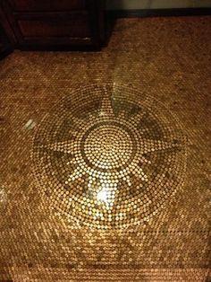 Penny Floor - contemporary - Floors - Minneapolis - Rocksolid Floors