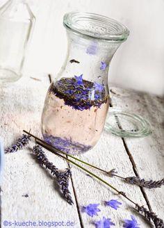 S-Küche: Lavendelsirup und Lavendelzucker