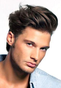 Men wavy Comb Over Hairstyles