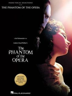 (Piano/Vocal/Guitar Songbook). 12 selections from the movie adaptation of this Broadway classic: Think of Me * Angel of Music * The Phantom of the Opera * The Music of the Night * Prima Donna * All I