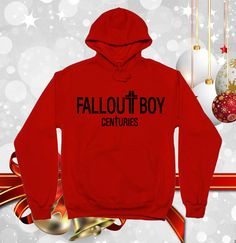 Hey, I found this really awesome Etsy listing at https://www.etsy.com/listing/209796199/fall-out-boy-centuries-favorite-hoodie