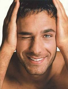 Raoul Bova - Inspiration for Greg Brooks - The Other Brooks Boy by Diane Roth