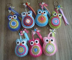 Best 12 Cute stash busters/ or flea market idea – SkillOfKing.Com - DiyForYou Owl Crochet Patterns, Crochet Owls, Owl Patterns, Cute Crochet, Crochet Animals, Amigurumi Patterns, Crochet Crafts, Crochet Flowers, Crochet Baby