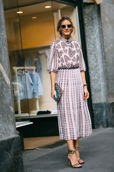The Olivia Palermo Lookbook : Olivia Palermo at Milan Fashion Week IV
