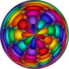 beautiful paperweight ,,, colors!!!