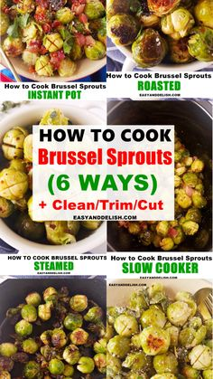 Gluten Free Recipes, Keto Recipes, Vegetarian Recipes, Cooking Recipes, Healthy Recipes, Cooking Brussel Sprouts, Brussels Sprouts, Quick Side Dishes, Vegetable Side Dishes