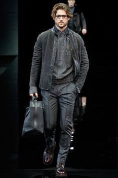 Giorgio Armani | Fall 2014 Menswear Collection | Style.com