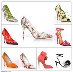 Oh Manolo you make my heart race with your new spring collection!