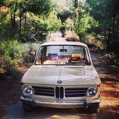 """shreddedjohn: """"A classic #BMWRepost featuring @malaeb's gorgeous #BMW2002…"""