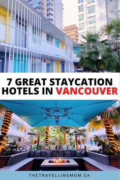 Local staycations are where it's at for winter and spring break. Our guide to staycations in Vancouver and beyond will help change up your four walls and enjoy some luxe pamper time with family or your significant other.