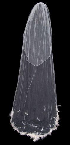 "Cheryl King Couture ""Duchess"" Veil"