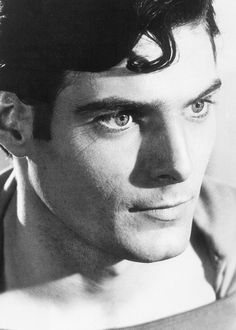 Christopher Reeve as Superman. (September 25, 1952 – October 10, 2004)