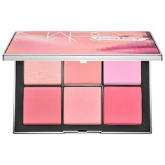 NARS's NARSissist Wanted Cheek Palette at Sephora. A limited-edition palette featuring six covetable cheek shades in matte, satin, and shimmer finishes. Makeup Dupes, Makeup Cosmetics, Makeup Brushes, Makeup Geek, Blush Makeup, Luxury Beauty, Diy Beauty, Beauty Makeup, Beauty Tips