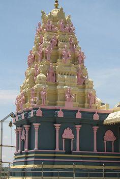 Ice cream color Temple, Bangalore
