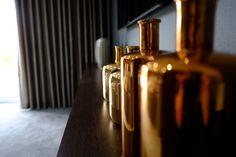 #Brass vase's in the #lounge. #Strata