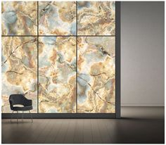 Oh how I want an illuminated wall like this! Spectacular! ViviStone Opal Onyx glass in standard finish used in LightPlane panels and Levele wall system by Forms+SurfacesViviStone™ Glass