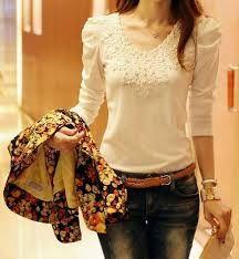blusas de lã bordadas com perolas - Pesquisa Google