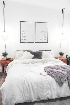 Awesome Idee Deco Chambre Style Loft that you must know, You?re in good company if you?re looking for Idee Deco Chambre Style Loft Couples Apartment, Small Apartment Bedrooms, Apartment Bedroom Decor, Cheap Apartment, Apartment Living, Diy Bedroom, Bedroom Furniture, Comfy Bedroom, Small Rooms