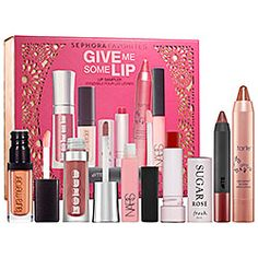 Sephora Favorites :Give Me Some Lip set $25 Get 10% Cash Back http://studentrate.com/itp/get-itp-student-deals/Sephora-Student-Discounts--/0