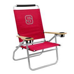 NC State Wolfpack Beach Chair
