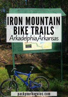 Iron Mountain Bike Trails Arkadelphia, Arkansas