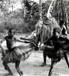 "Africa | ""Circumcision dance"".  Angola 