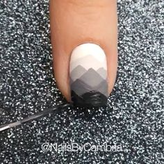 Misty mountain nails by @nailsbycambria Song: Misty Mountain Hop-Led Zeppelin