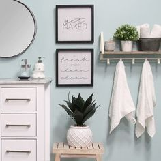 Stratton Home Decor Set of 2 Get Naked Wall Art