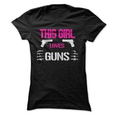 This Girl Loves Guns Limited Edition T Shirts, Hoodies Sweatshirts. Check price ==► https://www.sunfrog.com/Sports/This-Girl-Loves-Guns-Limited-Edition.html?57074