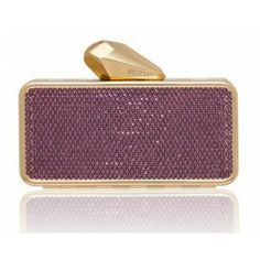 #Getsmartbag Minaudiere for your iphone | Purple Provence - Amethyst Swarovski Crystals | Exclusive online edition for www.koturltd.com | #KOTUR #Swarovski