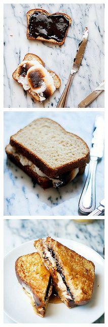 s'more french toast | heathersfrenchpress.com