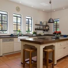 kitchen with terra cotta floor tiles | kitchen | pinterest | terra
