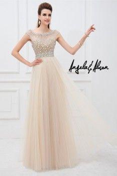 Prom Dresses Cap Sleeve