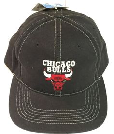 Vintage Chicago Bulls NBA Twins SnapBack Cap Hat Snaps #TwinsEnterprisesInc #ChicagoBulls