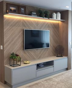Tv Cabinets Designs Wooden 2021 If you desire any kind of type of adjustment in your home designs and decoration as well as if you are thinking to revamp your tv cabinets designs woo... Tv Unit Furniture Design, Tv Unit Interior Design, Tv Wall Design, Tv Cabinet Wall Design, Tv Shelf Design, Tv Cabinet Design Modern, Condo Interior, Media Furniture, Shelving Design
