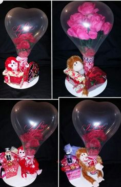 Stuffed balloon gift set by niftygiftsbystacy