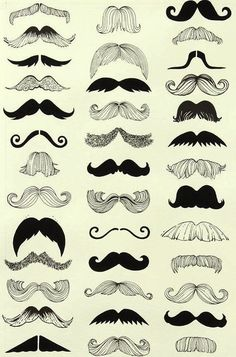nice Black and White Mustache Nursery Bed Sheet