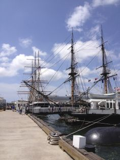 Hometown Adventure: San Diego, CA - Head to sunny California for a family adventure. San Diego has it all. Check out these tall ships and more on your next vacation. Find more travel ideas at http://littlefamilyadventure.com