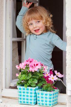 Noch mehr Blumenkörbchen ...