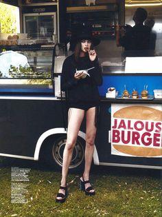 Platform Sandal | Spring Summer 15 | Jalouse Magazine | Styled by Helena Tejedor | Photography Piczo