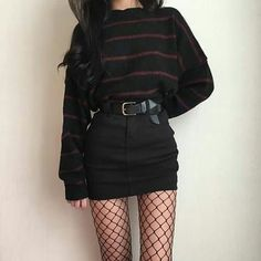 Awesome Pretty Fashion Outfits for Women The Forbidden Truth Regarding Awesome Pretty Fashion Outfits for Women Revealed by an Old Pro Regardless of what's your body … - Trendy Fashion Grunge Punk Outfits Ideas Grunge fashion Grunge Style Outfits, Mode Outfits, Girl Outfits, Casual Outfits, Fashion Outfits, Fashion Ideas, Summer Outfits, Skirt Fashion, Cute Punk Outfits