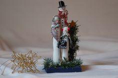 handmade snowman | Flickr - Photo Sharing!