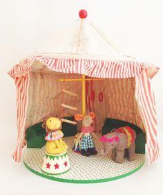 Circus big top tent | Tea and Kate