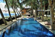 Pool im La Chevrie Resort und Spa Batangas Philippinen Pool und Spa Batangas Philippines, Philippines Beaches, Philippines Travel, Beach Resorts, Hotels And Resorts, Makati City, Dive Resort, Verde Island, Exotic Beaches