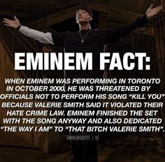 Eminem Funny, Eminem Memes, Eminem Rap, Eminem Quotes, Music Quotes, Bruce Lee, Bob Marley, Weird Facts, Fun Facts